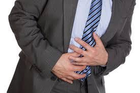胃潰瘍の男
