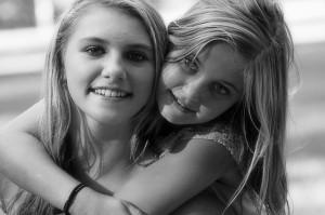 幸せな姉妹