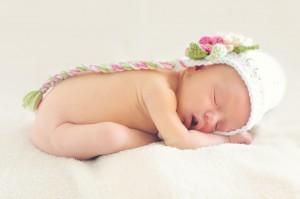 眠る赤ちゃん1