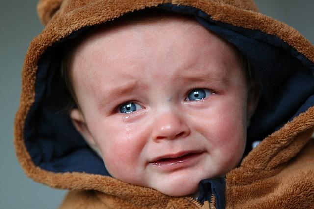 悲しい赤ちゃん