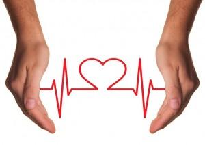 心電図と手