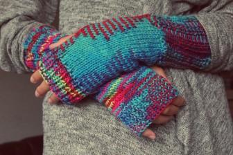 手(暖かい)