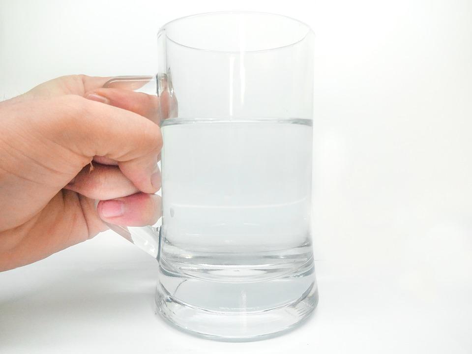グラスのコップ