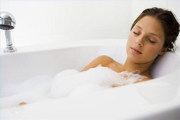 インフルエンザ お風呂