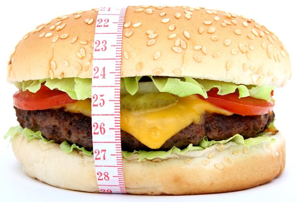 肥満ハンバーガー