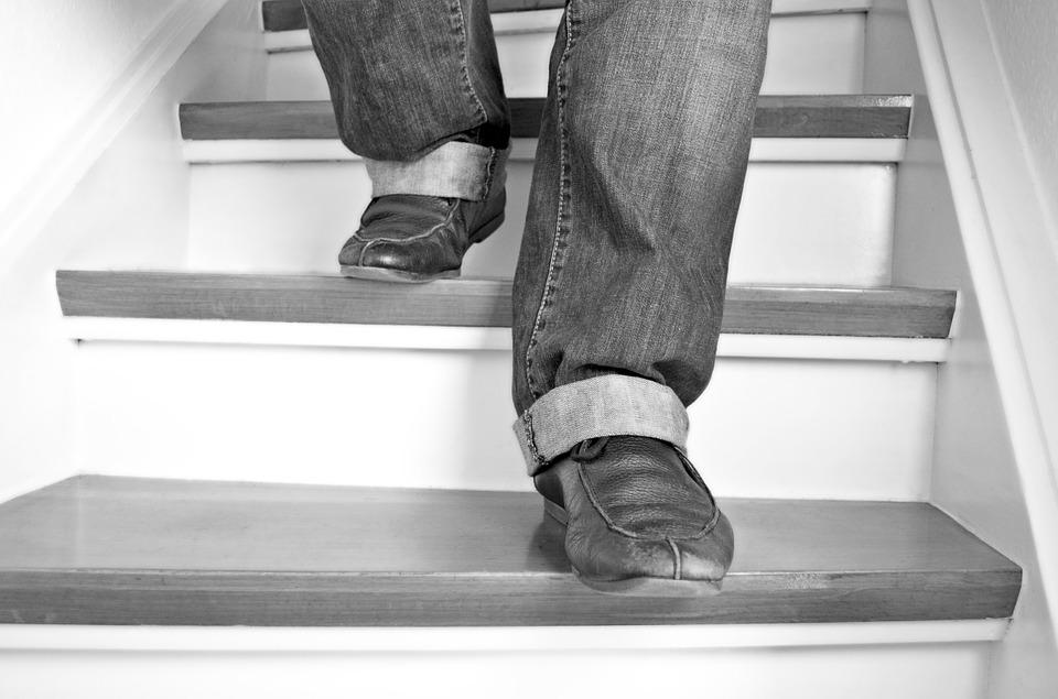 階段上り下り