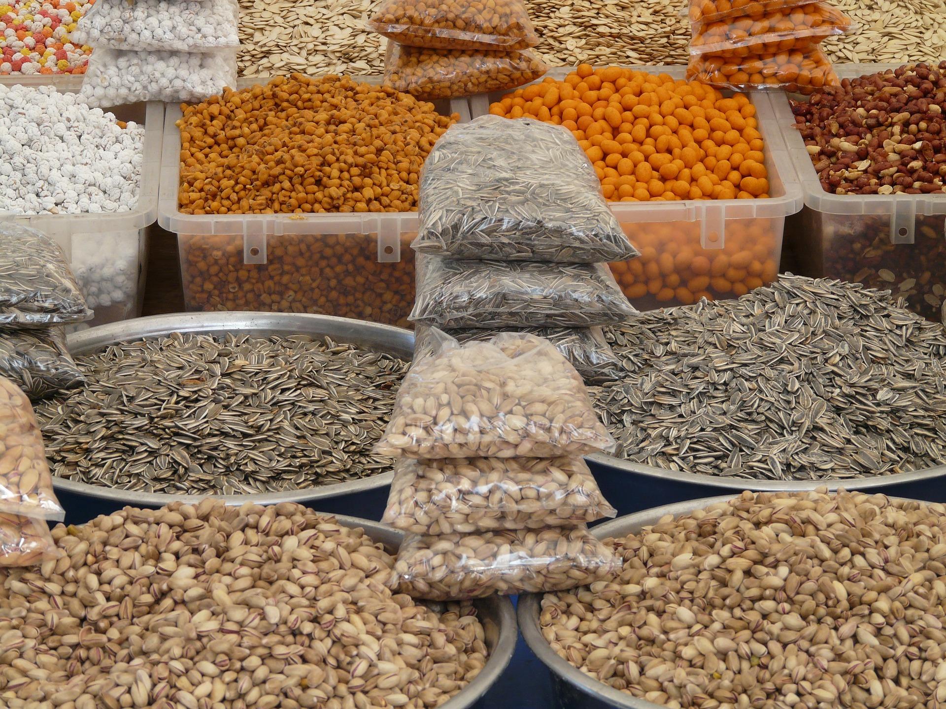 ひまわりの種市場