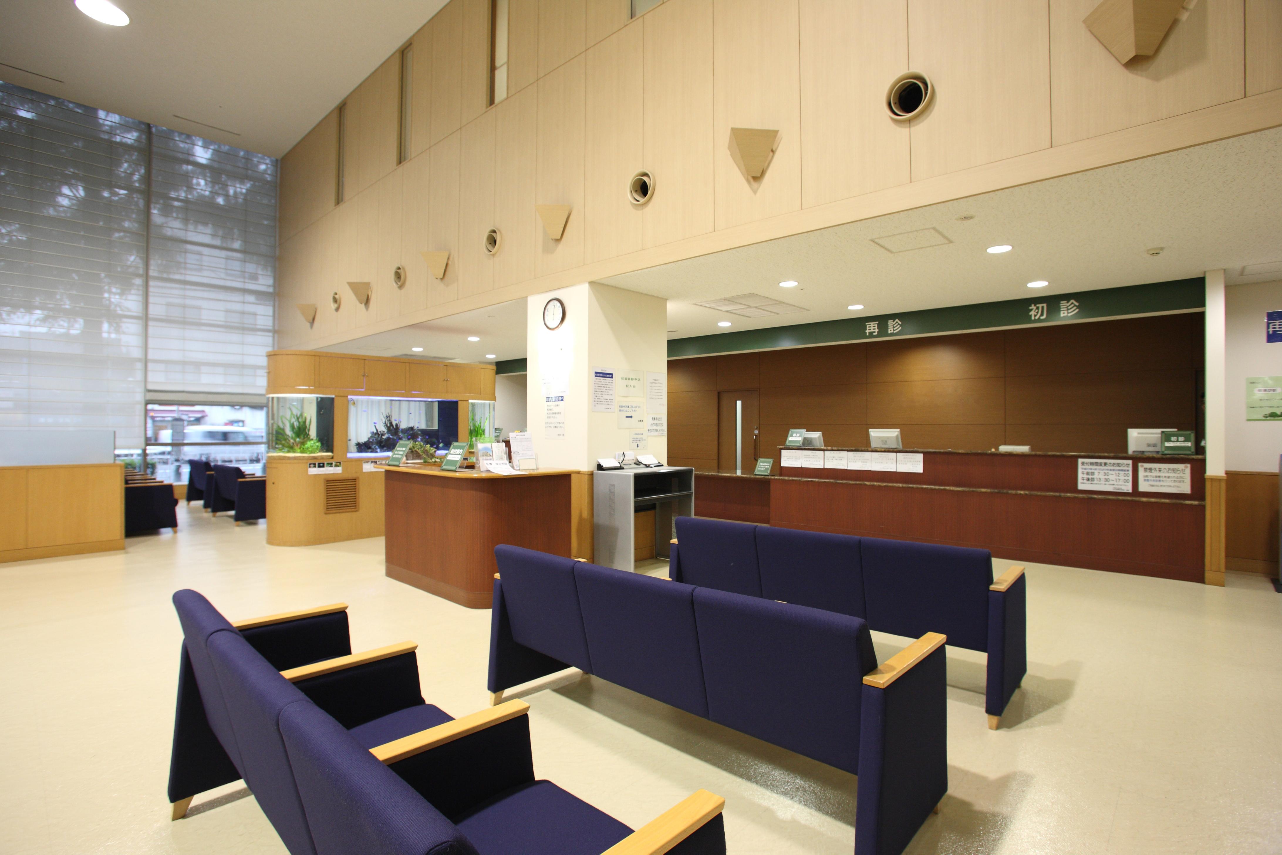 病院の受付 2016.12.30
