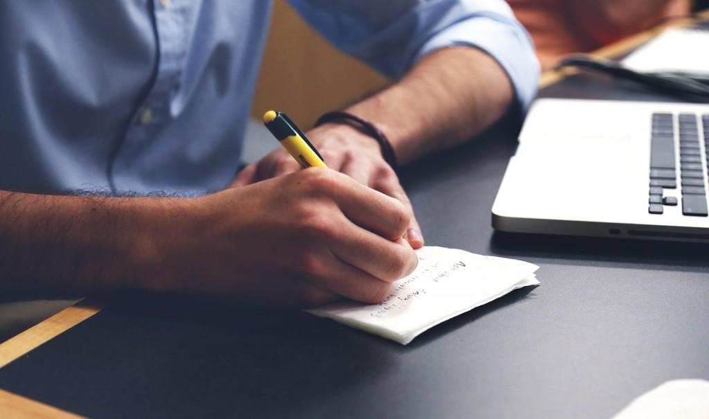 日記に書く