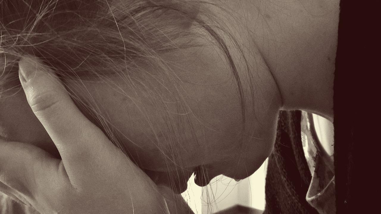 うつ病女性