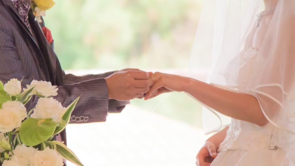 1.結婚指輪交換