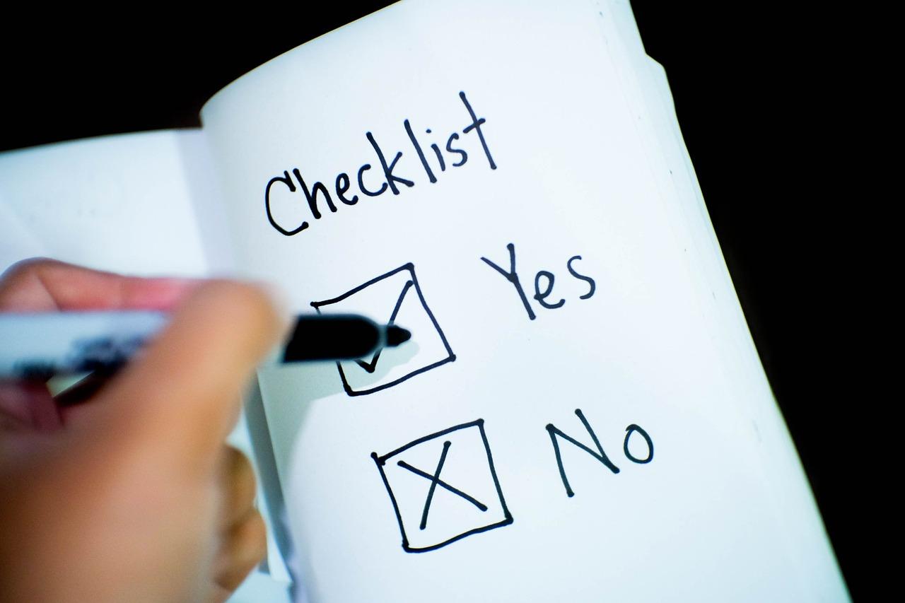 checklist-2313804_1280